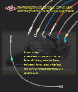 Yuan-Chang Hardware Enterprise Co.</h2><p class='subtitle'>Brake hose, high-pressure hose, stainless-steel hose, metal hose, PTFE hose, Teflon hose, pneumatic/hydraulic pipe fittings etc.</p>