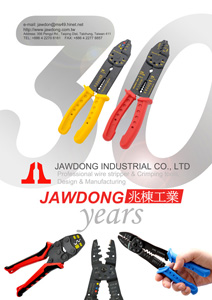 Jawdong Industrial Co., Ltd.</h2><p class='subtitle'>Crimping tools, wire strippers, ratchet screwdrivers, cable-cutting pliers, tools for electronics and PCs</p>
