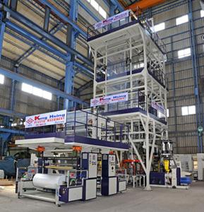 光兴塑料机械厂股份有限公司</h2><p class='subtitle'>单层/多层吹袋机、抽丝机、编纱机、塑料回收设备、清洗机、整厂设备</p>