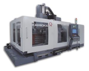 Kamioka Corporation </h2><p class='subtitle'>CNC machining centers, CNC horizontal turning centers, double-column machining centers</p>